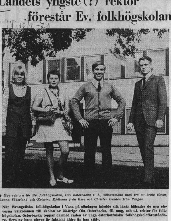 Klipp ur JT 10.9.1970.