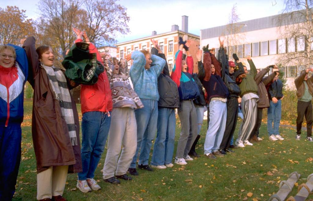 Uttryck för gemenskap hösten 1994.