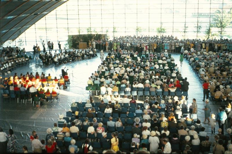 Evangeliföreningens 100-årsjubileum i Åbo 1973 blev en urladdning i fråga om bibeldebatten.